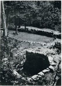 Turnul pentagonal (fotografie de arhiva)